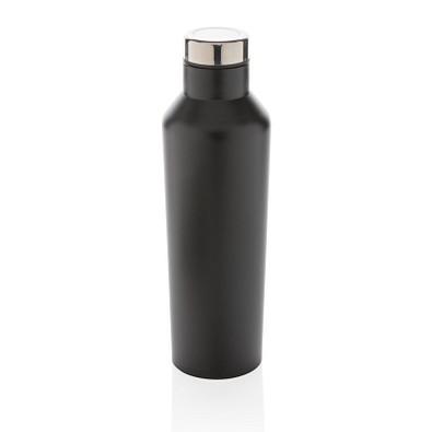 XD COLLECTION Vakuum-Flasche aus Stainless Steel, 500 ml, schwarz