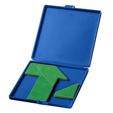 """Motivpuzzle """"T"""", standard-blau PP"""