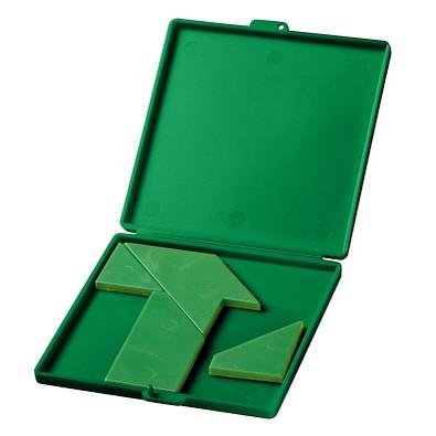 """Motivpuzzle """"T"""", standard-grün"""