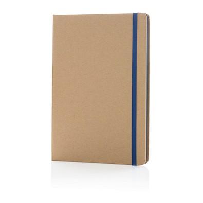 XD COLLECTION Nachhaltiges Notizbuch, DIN A5, blau