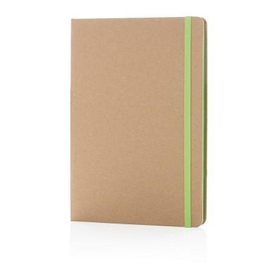 XD COLLECTION Nachhaltiges Notizbuch, DIN A5, grün