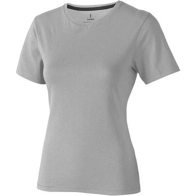 ELEVATE Damen T-Shirt Nanaimo, grau meliert, XXL
