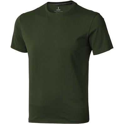 ELEVATE Herren T-Shirt Nanaimo, armeegrün, M