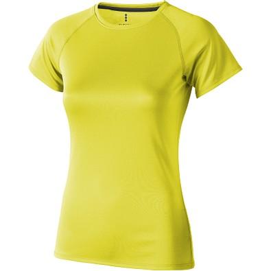 ELEVATE Damen T-Shirt Niagara cool fit, neongelb, S