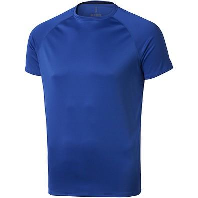 ELEVATE Herren T-Shirt Niagara cool fit, blau, XL