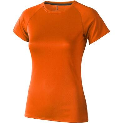 ELEVATE Damen T-Shirt Niagara cool fit, orange, S
