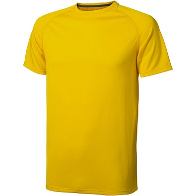 ELEVATE Herren T-Shirt Niagara cool fit, gelb, XS