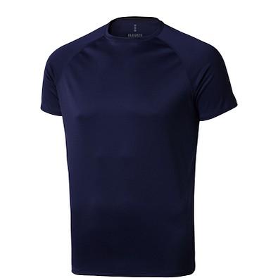 ELEVATE Herren T-Shirt Niagara cool fit, dunkelblau, XS