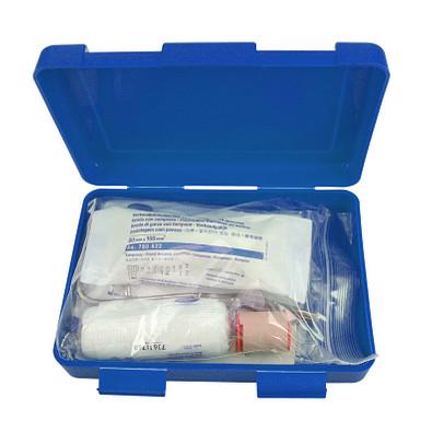 Notfall-Set Box, groß, standard-blau PP