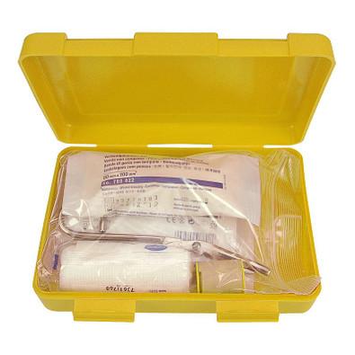 Notfall-Set Box, groß, standard-gelb