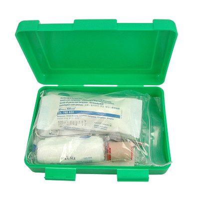 Notfall-Set Box, groß, standard-grün