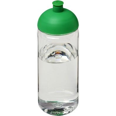 Octave Tritan Sportflasche mit Stülpdeckel, 600 ml, transparent,grün