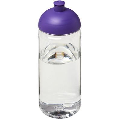 Octave Tritan Sportflasche mit Stülpdeckel, 600 ml, transparent,lila