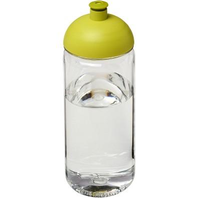Octave Tritan Sportflasche mit Stülpdeckel, 600 ml, transparent,limone
