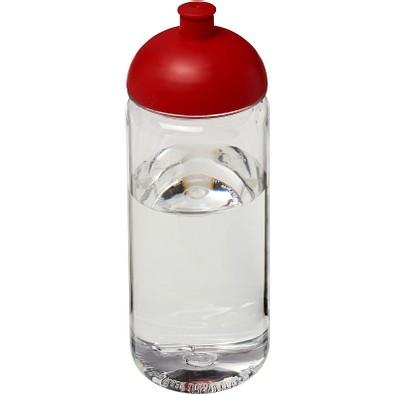 Octave Tritan™ 600 ml Sportflasche mit Stülpdeckel, transparent,rot
