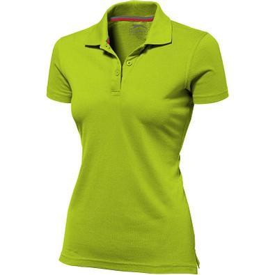 Slazenger™ Damen Poloshirt Advantage, apfelgrün, M
