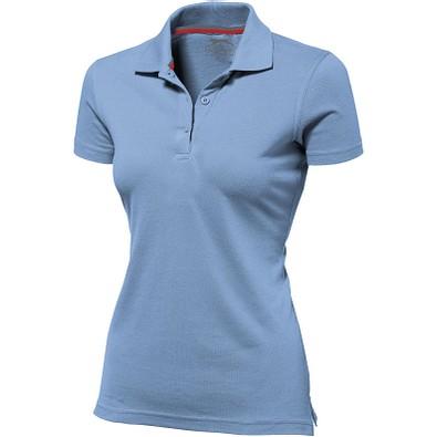 Slazenger™ Damen Poloshirt Advantage, hellblau, XXL