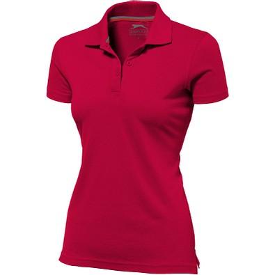 Slazenger™ Damen Poloshirt Advantage, rot, L