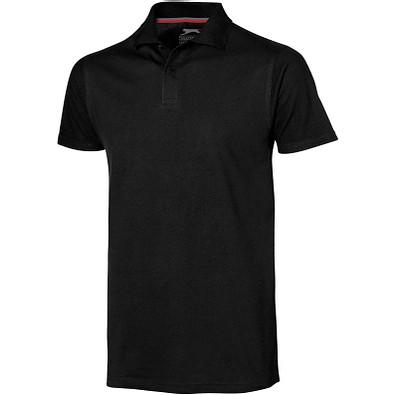Slazenger™ Herren Poloshirt Advantage, schwarz, XXL