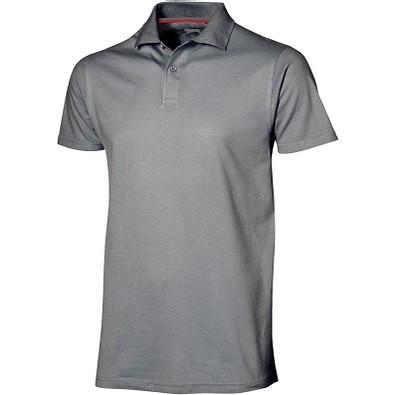Slazenger™ Herren Poloshirt Advantage, grau, S