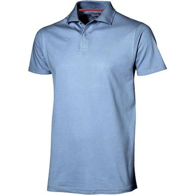 Slazenger™ Herren Poloshirt Advantage, hellblau, XXL