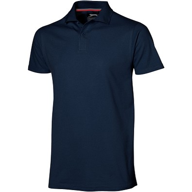 Slazenger™ Herren Poloshirt Advantage, navy, XXL