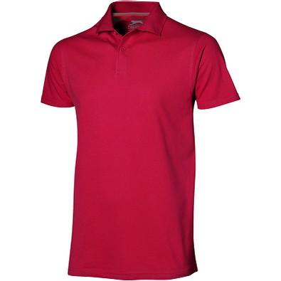 Slazenger™ Herren Poloshirt Advantage, rot, XXL