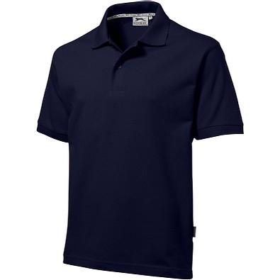 Slazenger™ Herren Poloshirt Forehand, dunkelblau, S