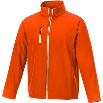 Orion Softshelljacke für Herren, orange, XS