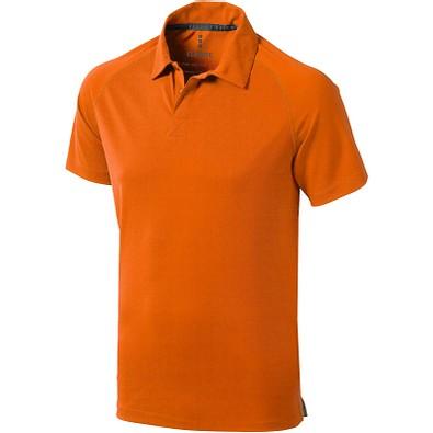 ELEVATE Herren Poloshirt Ottawa cool fit, orange, XS