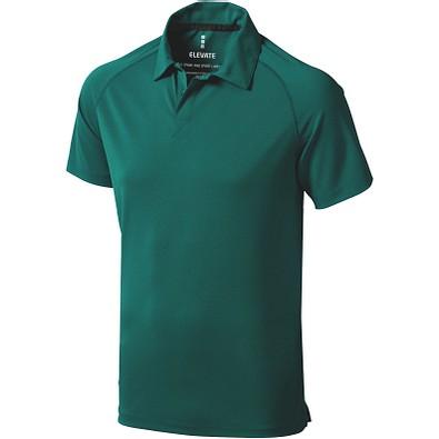 ELEVATE Herren Poloshirt Ottawa cool fit, waldgrün, M