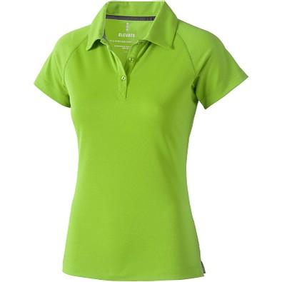 ELEVATE Damen Poloshirt Ottawa cool fit, apfelgrün, M