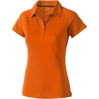 ELEVATE Damen Poloshirt Ottawa cool fit, orange, XL