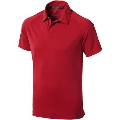 ELEVATE Herren Poloshirt Ottawa cool fit, rot, M