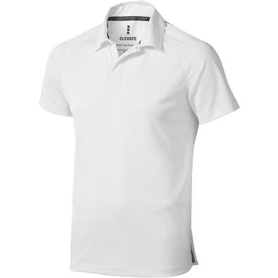ELEVATE Herren Poloshirt Ottawa cool fit, weiß, XS