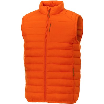 ELEVATE Herren Weste Pallas Wattierter Bodywarmer, orange, XL
