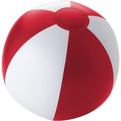 Wasserball Palma, rot/weiß