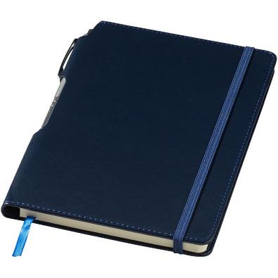 Panama DIN A5 Notizbuch und Stift, navy