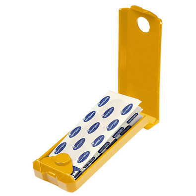 Pflasterbox Stripe, standard-gelb