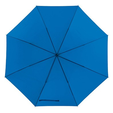 Portierschirm mit Hülle, blau