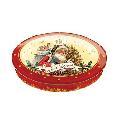 CONFISERIE HEIDEL Präsentdose Weihnachtszauber, Weihnachtsnostalgie, rot