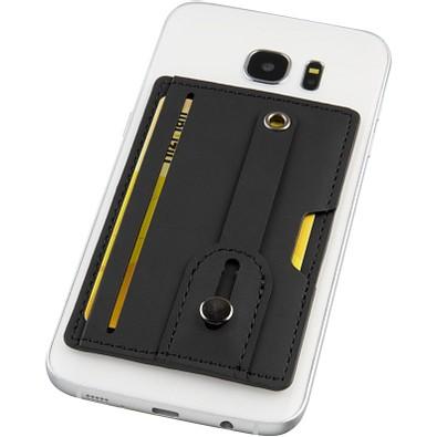Prime RFID Telefontasche mit Riemen, schwarz