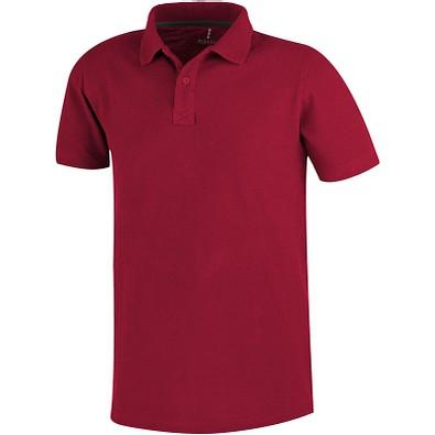 ELEVATE Herren Poloshirt Primus, rot, M