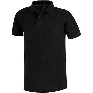 ELEVATE Herren Poloshirt Primus, schwarz, L