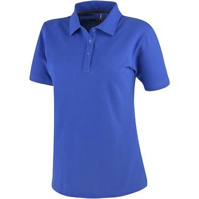 ELEVATE Damen Poloshirt Primus, blau, S