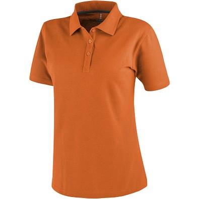 ELEVATE Damen Poloshirt Primus, orange, XL