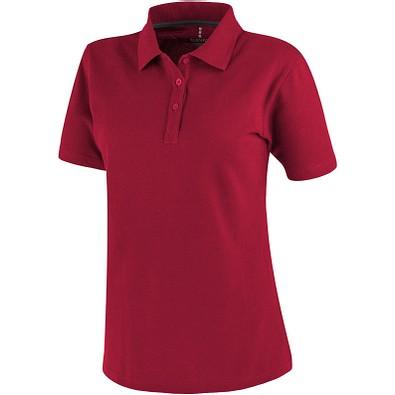 ELEVATE Damen Poloshirt Primus, rot, S