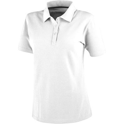 ELEVATE Damen Poloshirt Primus, weiß, XS