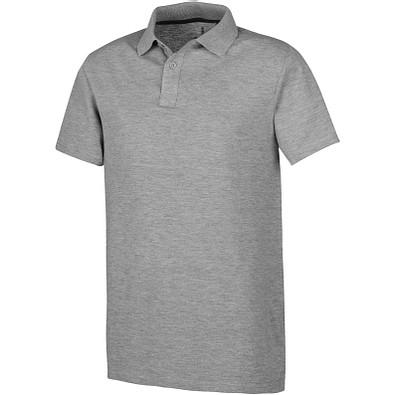 ELEVATE Herren Poloshirt Primus, grau meliert, XXL