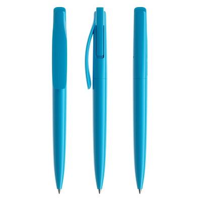 prodir® Druckkugelschreiber DS2 PPP Push, cyanblau